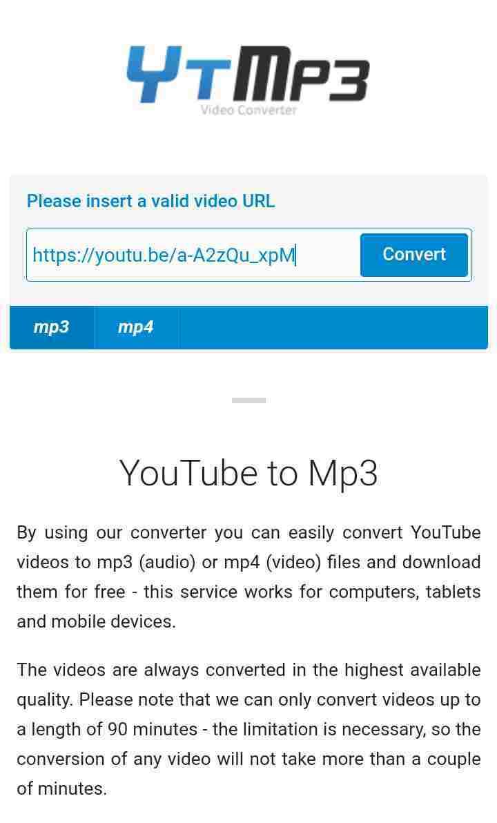 ইউটিউব থেকে mp3 গান ডাউনলোড